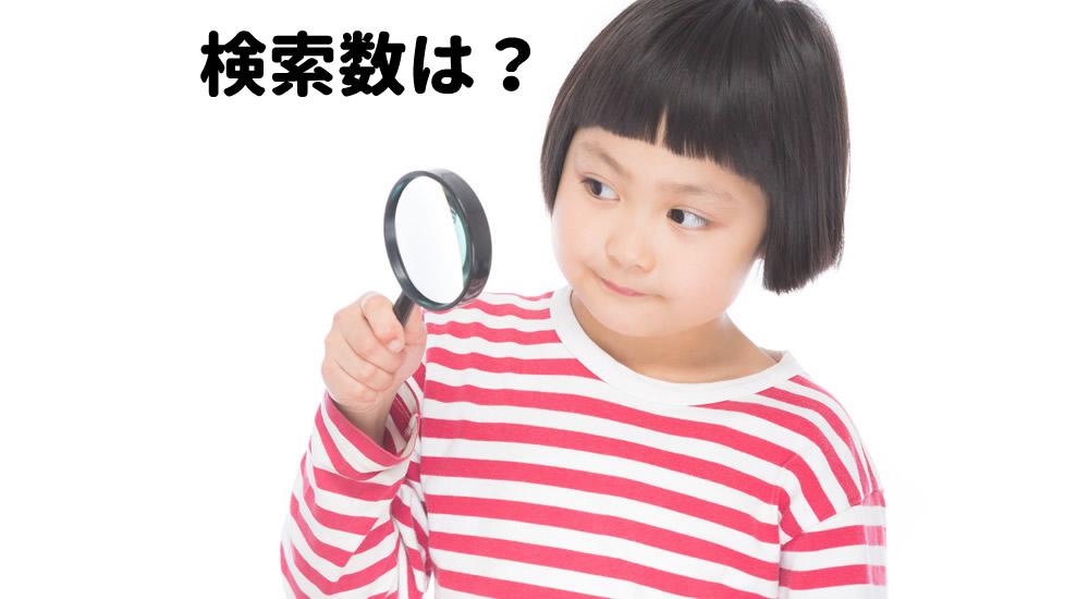 【SEO】検索数はどれくらい?Google検索だけ調べよう!(Yahoo!含む)